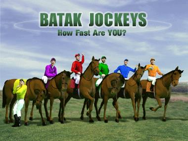 Sweepstakes Jockey Race